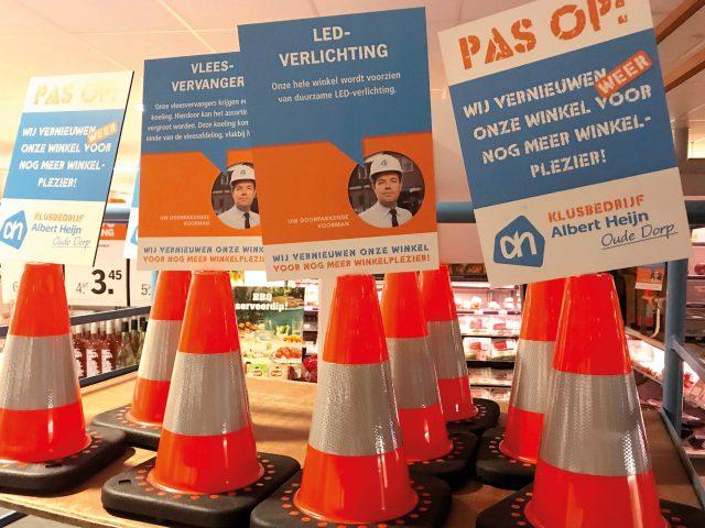 Verbouwen Albert Heijn Oude Dorp