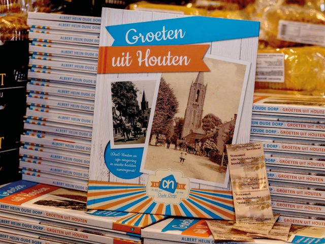 Spaaralbum historische beelden Houten